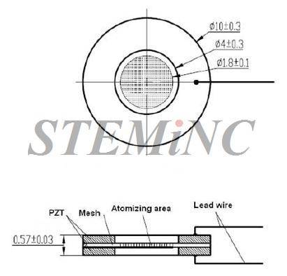 Metal mesh piezo atomizer 190 khz smmod10f190 steminc piezo metal mesh piezo atomizer 190 khz smmod10f190 steminc piezo piezoelectric manufacturer ccuart Choice Image