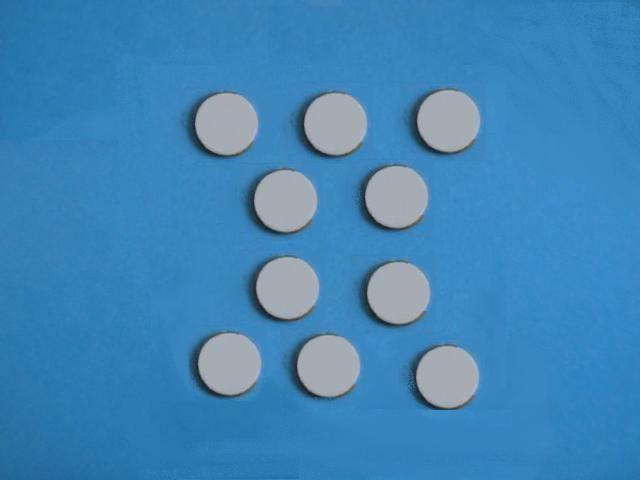 Piezoe Ceramic Disc Transducer 300 Khz Smd07t02s412