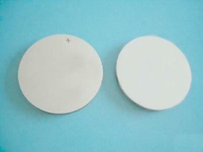 Picture of Piezo Ceramic Disc 10x0.2 mm S 10 MHz