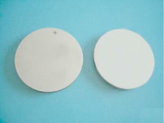 Picture of Piezo Ceramic Disc 10x0.2 mm S 10 MHz