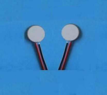 Picture of Piezo Disc 92 KHz R 22x0.25mm Wire Lead