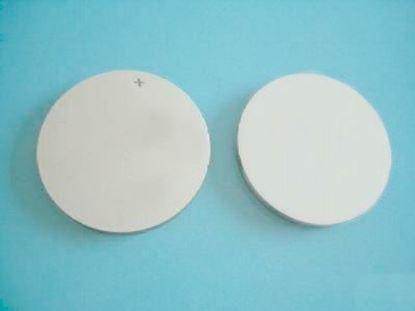 Picture of Piezo Ceramic Disc 28x0.7mm S 3 Mhz