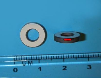 Picture of Piezo Ring 10x5x2mm 142 KHz SM111