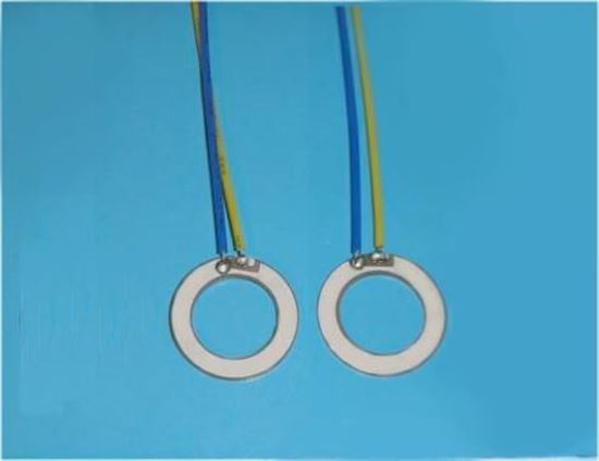 Picture of Piezoelectric Ring 13.5x7x1.2mm 1.7 MHz WL
