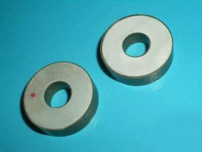 Picture of Piezo Ceramic Ring 28x9x0.3mm 6.8 MHz