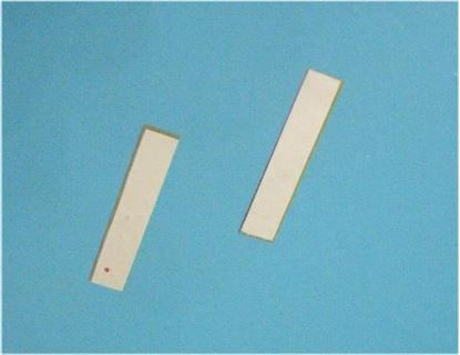 Picture of Piezo Ceramic Plate 25x5x0.30mm 60 KHz