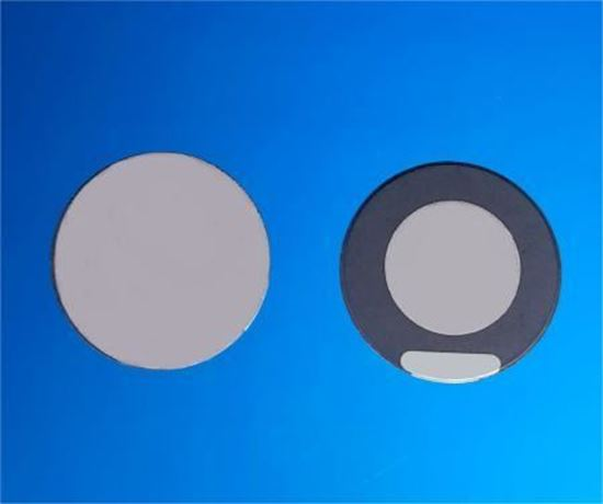 Picture of Piezo Ceramic Disc 25x1.4mm R  1.5 Mhz
