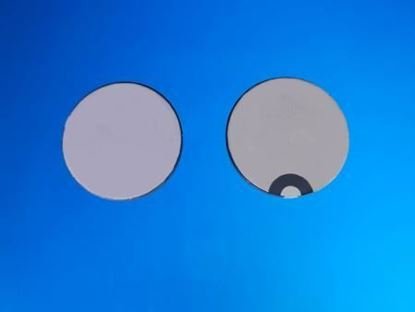 Picture of Piezo Ceramic Disc 25x2.1mm R  1 Mhz