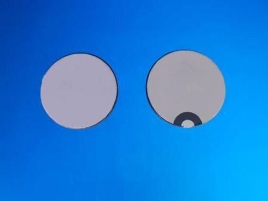 Picture of Piezo Ceramic Disc 25x2.1mm R  1 Mhz