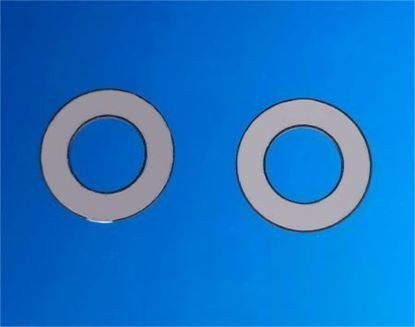 Picture of Piezo Ceramic Ring 19x12x0.75mm 61 KHz
