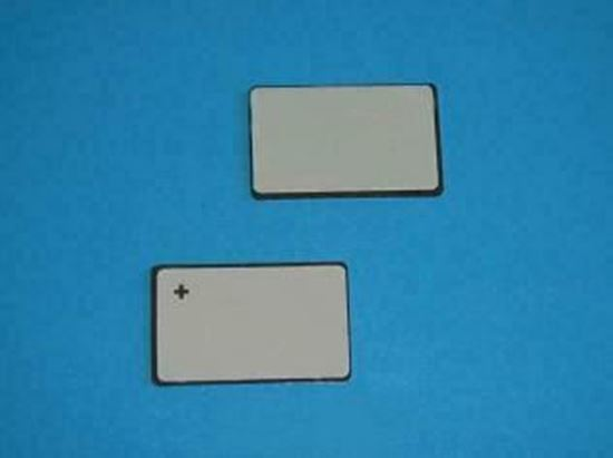 Picture of PZT Ceramic Plate 6x3x0.55mm 3.7 MHz