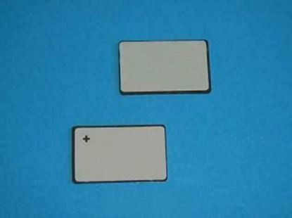 Picture of PZT Ceramic Plate 6x5x0.55mm 3.65 MHz