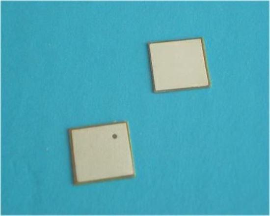 Picture of Piezo Ceramic Plate 7x7x0.2mm 250 KHz