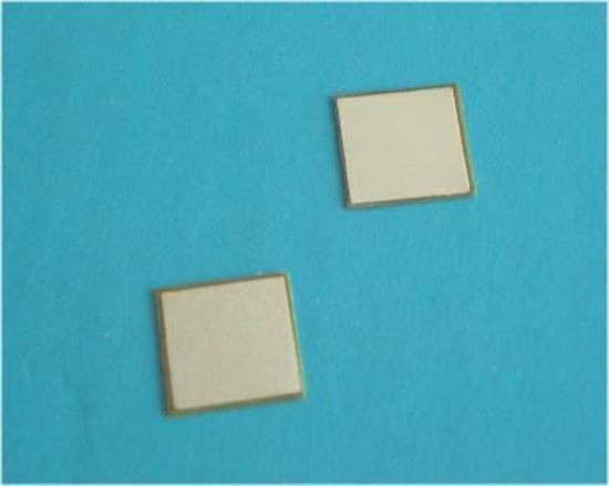 Picture of Shear Mode Piezo Plate 1 MHz