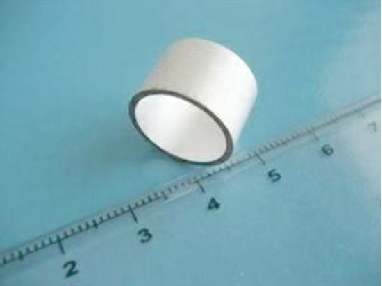Picture of Piezo Ceramic Tube Ø6.35Ø4.9x6.35mm - 155 KHz