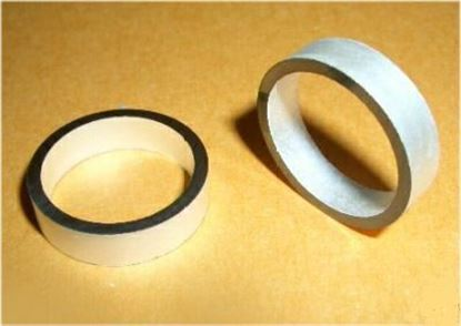 Picture of Piezo Ceramic Cylinder 20x17x5mm  57 KHz