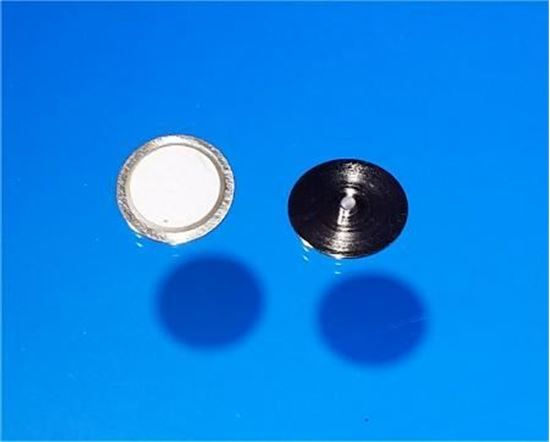 Picture of Piezoelectric Unimorph Transducer Disc 15mm 30 KHz