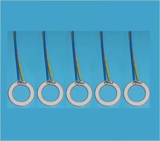 Picture of Piezo Ring 18x12x1.2mm 1.8 MHz WL