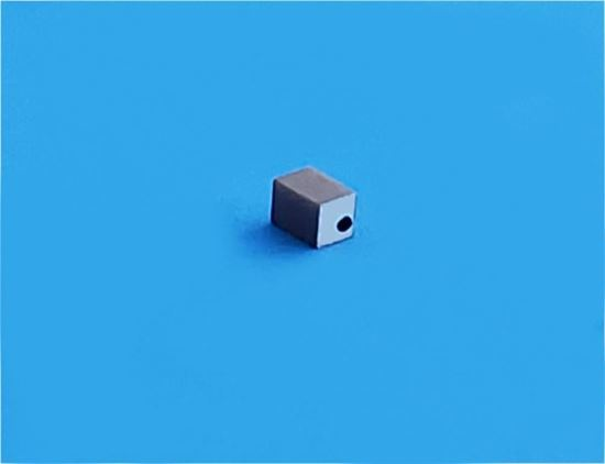 Picture of PZT Ceramic Block 2.1x2.1x3mm  515 KHz