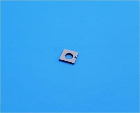 Picture of Shear Mode Piezo Plate With Center Hole 193 KHz