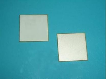 Picture of Piezo Plate 5x5x0.73mm 2.8 MHz