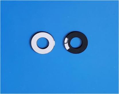 Picture of PZT Ring 12mm 120 KHz Teflon Coated