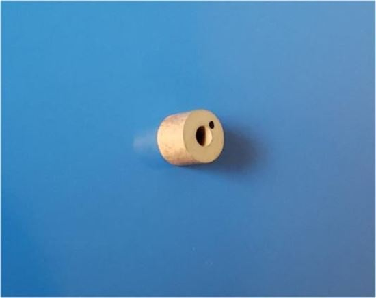 Picture of Shear Mode Gold Electrode Piezo Ceramic Cylinder 171 KHz